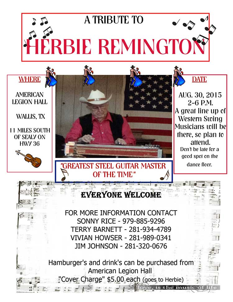 Herbie Remington Tribute